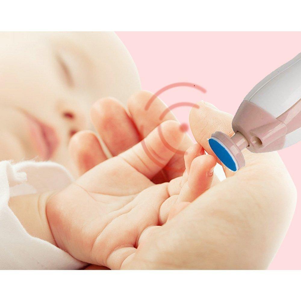 b228d32ea cortauñas para bebés - baby safe eléctrica lima de uñas para. Cargando zoom.