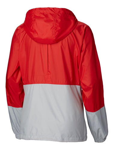 cortaviento flash forward windbreaker rojo columbia