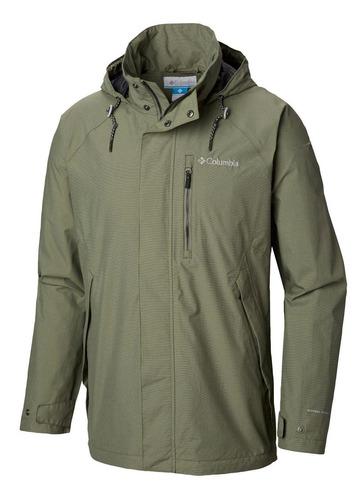 cortaviento good ways ii jacket verde columbia