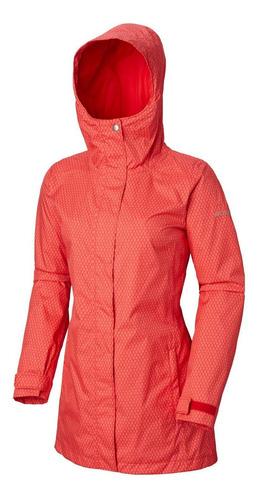 cortaviento splash a little ii jacket rojo