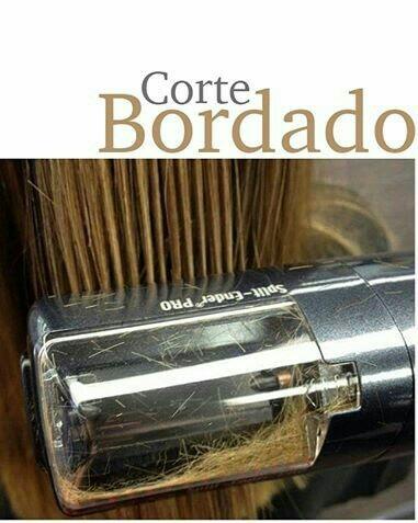 Maquina para corte bordado de cabello