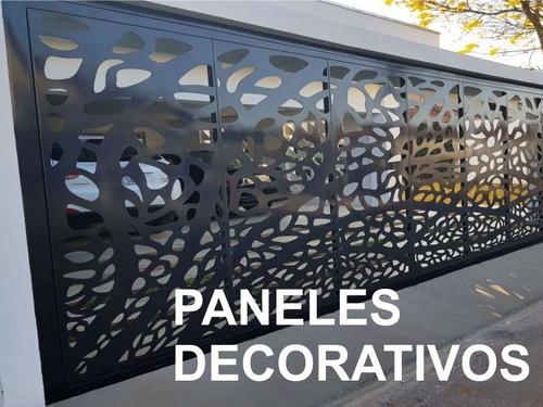 corte chapa pantografo cnc plegado carteles diseño paneles
