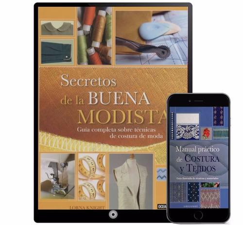 corte costura confección colección 12 libros - digital