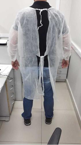 corte de aventais e tecidos