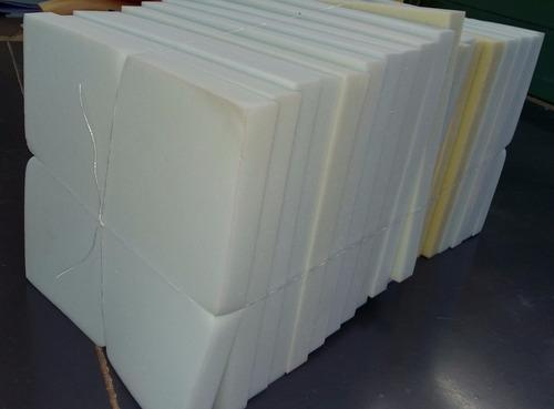 corte de espuma para silla 40x40x4 alta densidad