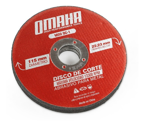 corte para discos