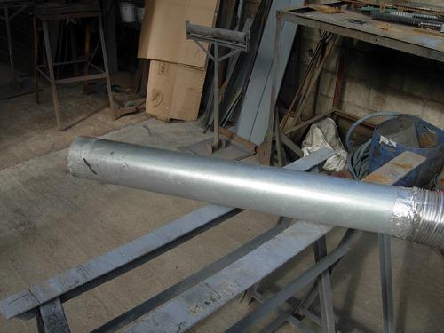 corte plegado cilindrado de chapa y ac inox ducto estufa