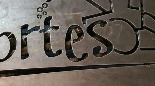 corte por plasma cnc pantografo platinas calados chapas