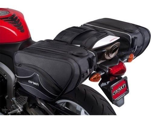 cortech super 20 alforja para motocicleta de 36 litros ne