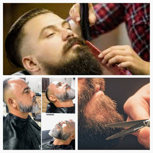cortes e barbas masculinos
