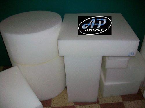 cortes goma espuma placas alta densidad soft almohadones