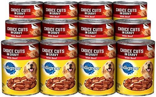 cortes pedigree choic perro mojado en salsa adultas alimento
