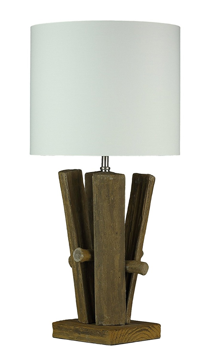 Cortesi home ch tl303113 split log cream shade table lamp b cream shade table lamp b cargando zoom aloadofball Images