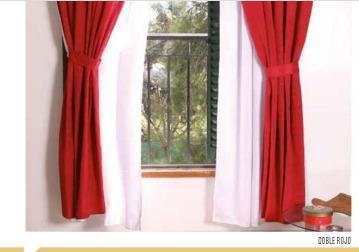 cortina ambient pesada doble pasante cinta fruncid enviograt