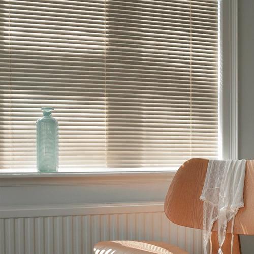 cortina americana de aluminio blanca - 25 mm origen usa !