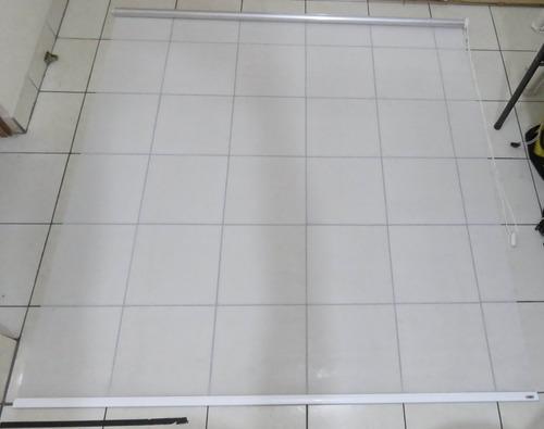 cortina arrollable marca canet 180 x 175 cms