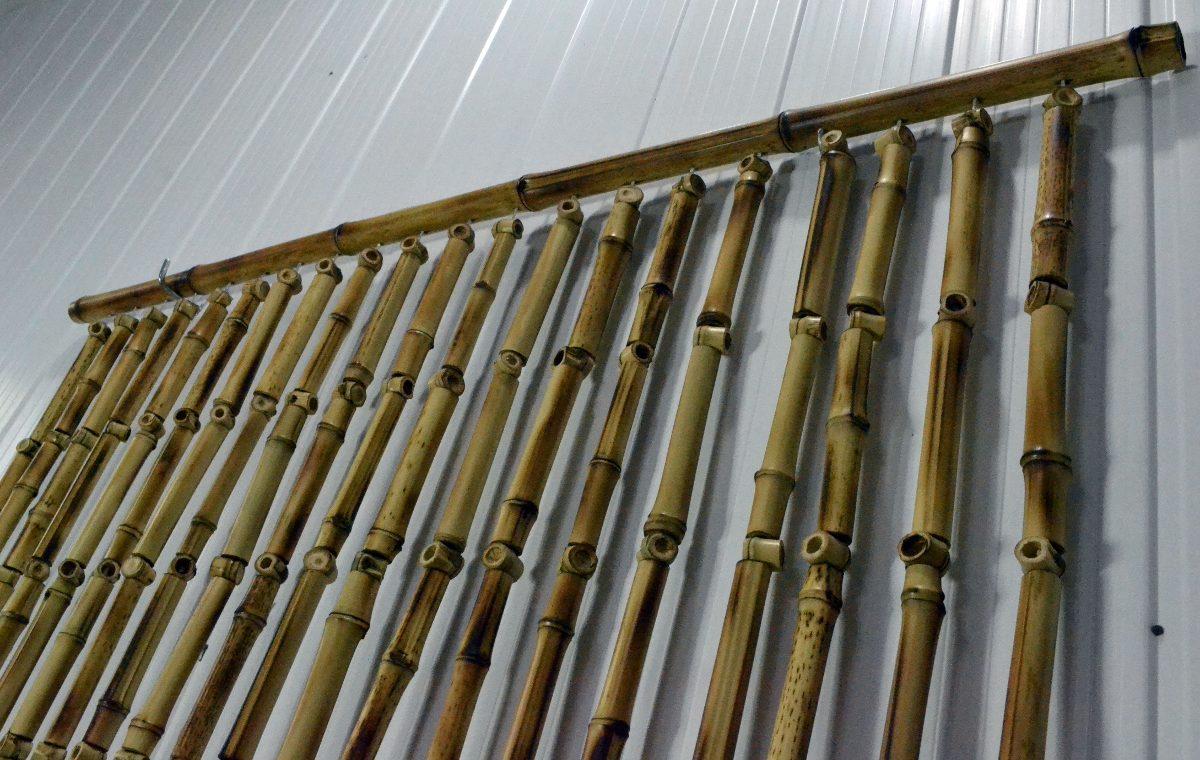 Cortina bambu tratado r 155 00 em mercado livre - Cortinas de bambu ...