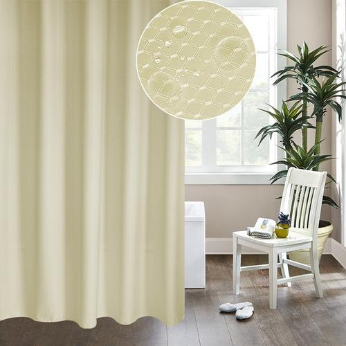 cortina baño engrosamiento prueba agua ducha moho blanco