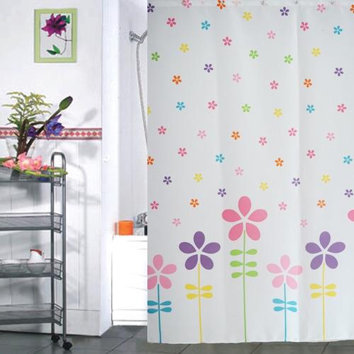 cortina baño poliester varios modelos (a escoger)