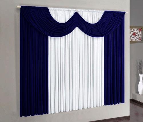 cortina barata paris 2,00x1,70m amarelo e branco #32