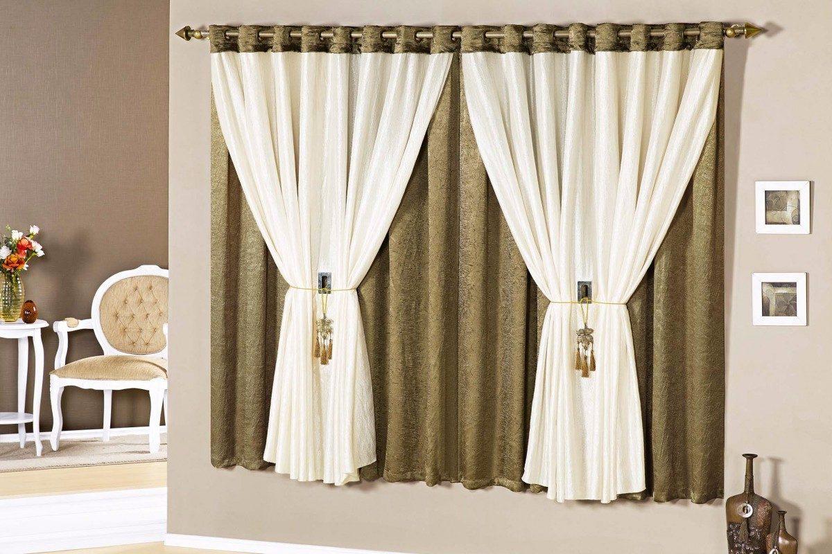 Cortina barcelona sala quarto cortina moderna 15085 r 419 90 em mercado livre - Cortinas para el hogar modernas ...