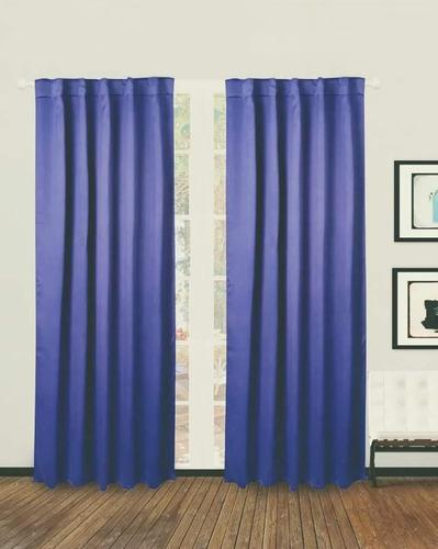 cortina black out azul