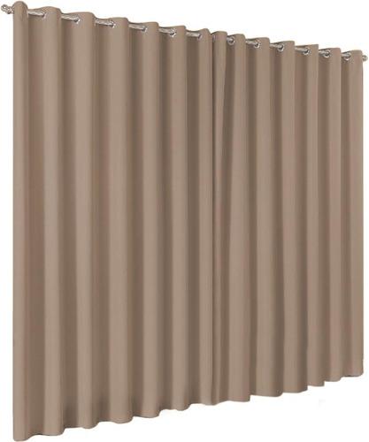 cortina blackout em tecido 4,00x2,50 corta luz