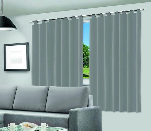 cortina blackout janela quarto residencial 2,00 x 2,00 metro