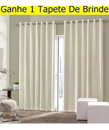 cortina blackout liso 4 metros frete grátis corta luz oferta