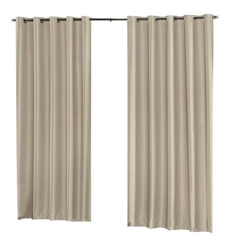 cortina blackout liso 4 metros x2,80m blecaute bloqueia 100%