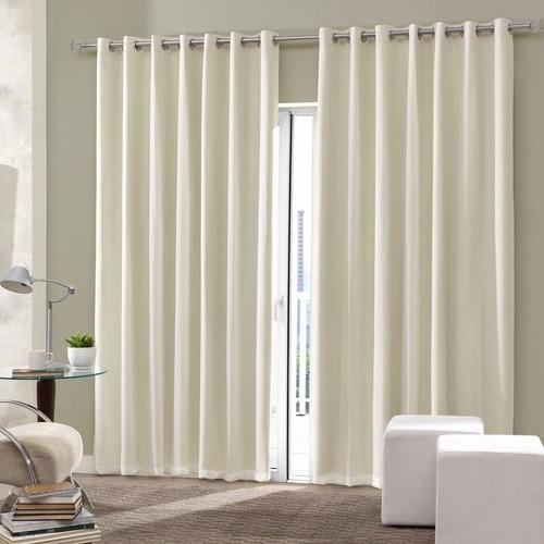 cortina blackout pvc corta luz 100% izaltex escolha cor