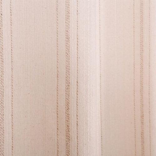 cortina chenille 2,00x1,80m para quarto e sala - natural