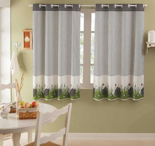 cortina com ilhoses 2,00x1,40 - bule