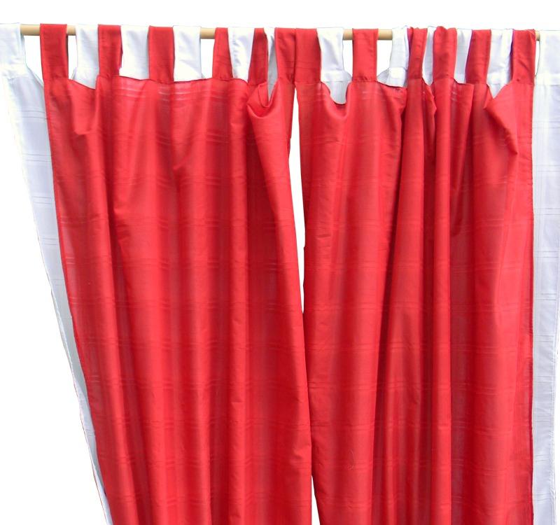 Cortinas para comedor paso a paso una linda cortina para for Cortinas blancas comedor