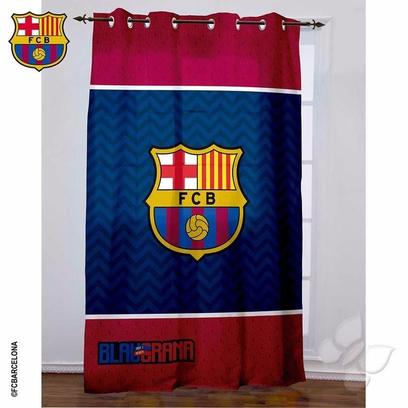Cortina con ojillos barcelona equipos futbol envio gratis en mercado libre - Comprar cortinas barcelona ...