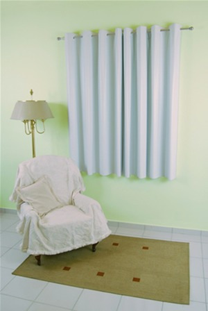 cortina corta luz 1,40x1,80 p/varão.(blackout).anti alérgico