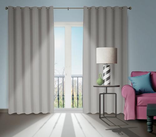 cortina corta luz blackout blecaute 1,40 x 2,00 promoção