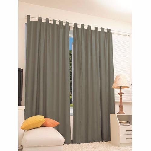 cortina corta luz blackout blecaute 2,80 x 2,40 + brinde