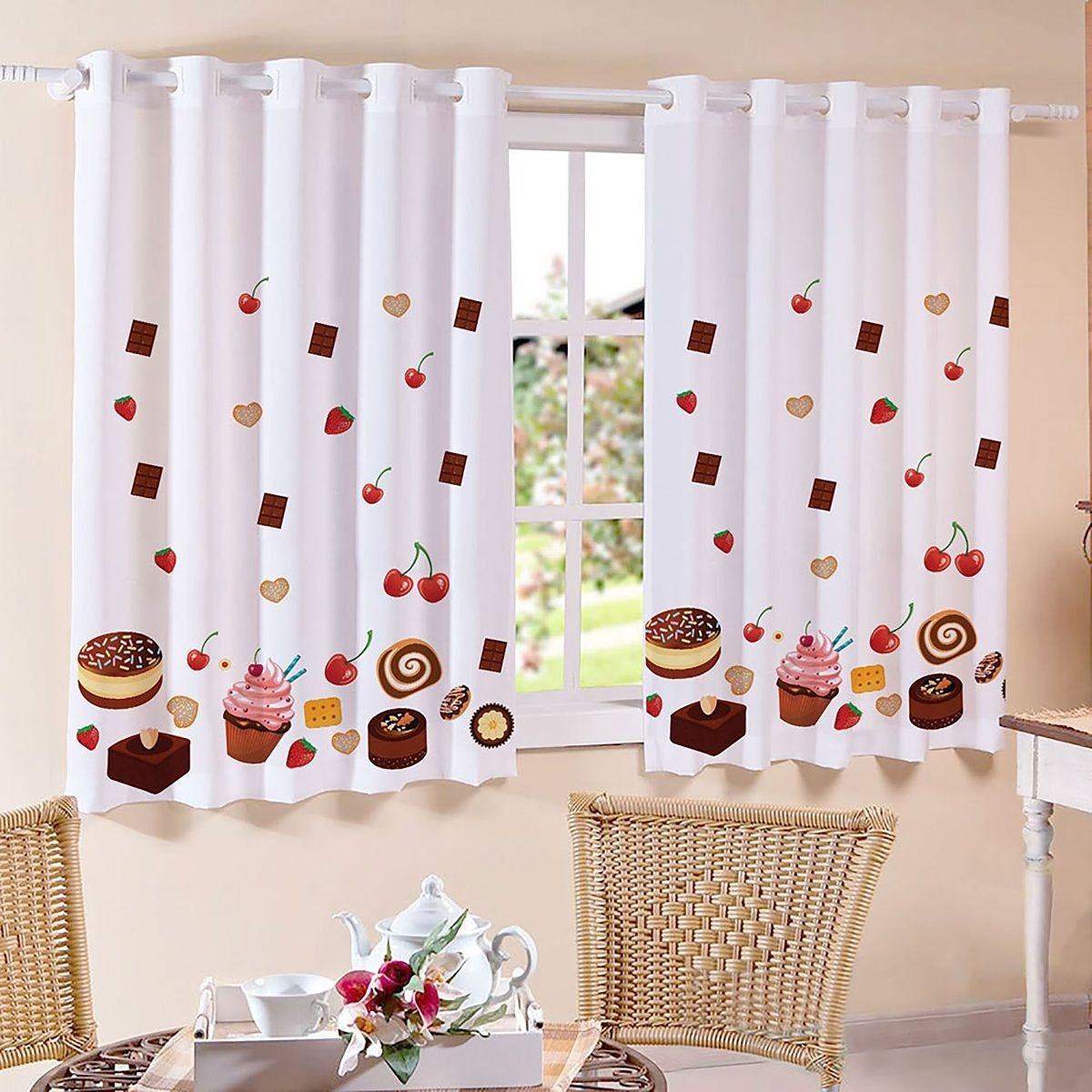 cortina para cozinha doce