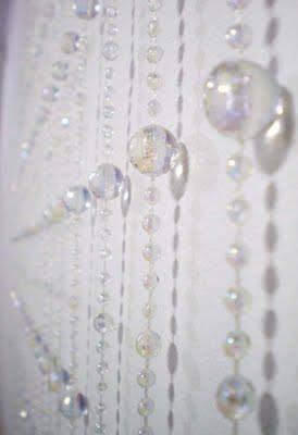 cortina cristal acrílica de miçangas e contas atacadista