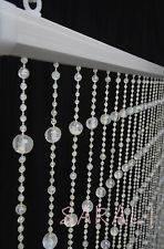 cortina cristal acrílica de miçangas e contas surpreendente