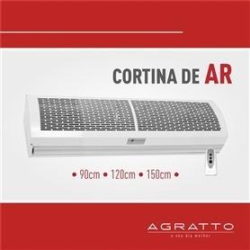cortina de aire de 120 cm agratto - oferta imperdible-
