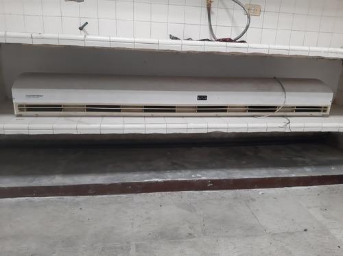 cortina de aire medidas 1,83 × 23 ancho y 20 de largo