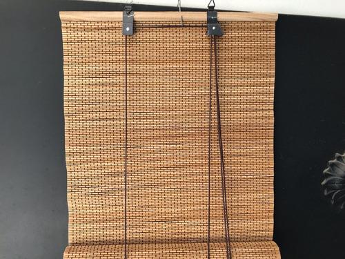 cortina de bambo. esterilla. 1x120.