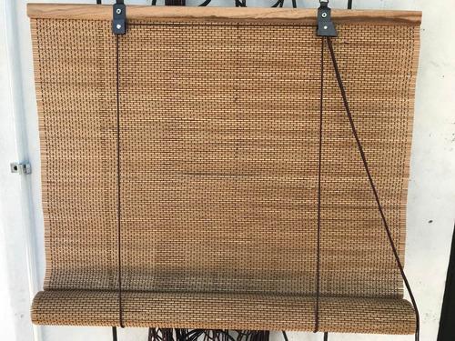 cortina de bambu. 3 hilos por cm maxima resistencia.