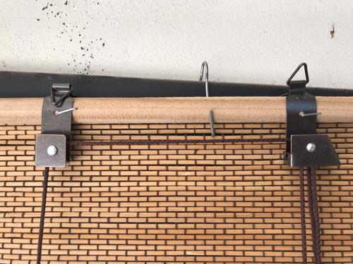 cortina de bambu esterilla. 80x120.