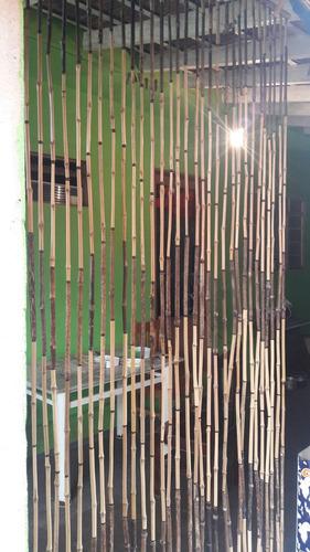 cortina de bambu para portas e janelas