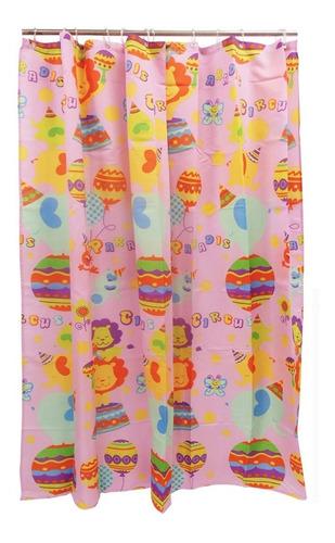 cortina de baño circus casamia