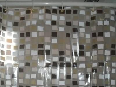 Cortina de baño de pvc de diseño muy gruesas varios colores ...