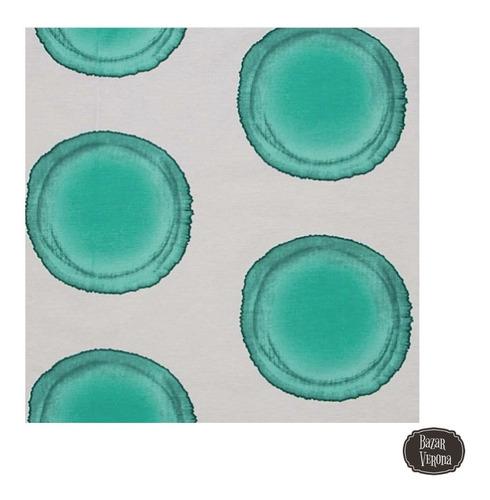 cortina de baño diseño algodon 60% poliester 40%